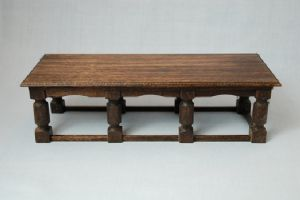 59c. Eight-Leg Refectory Table
